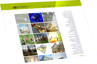 Website AAP Architects