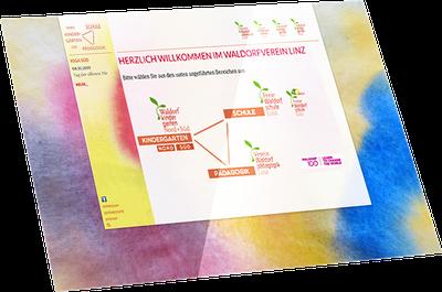 Website Freie Waldorfschule Linz